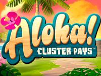 logo aloha cluster pays netent