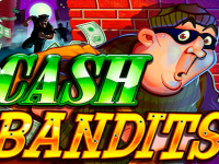 logo cash bandits rtg