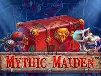 logo mythic maiden netent
