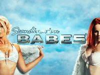 logo scandinavian babes playn go