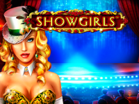 logo showgirls novomatic
