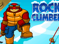 rock climber igrosoft slot game logo