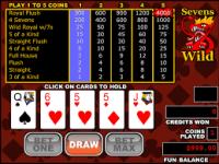 wild sevens poker